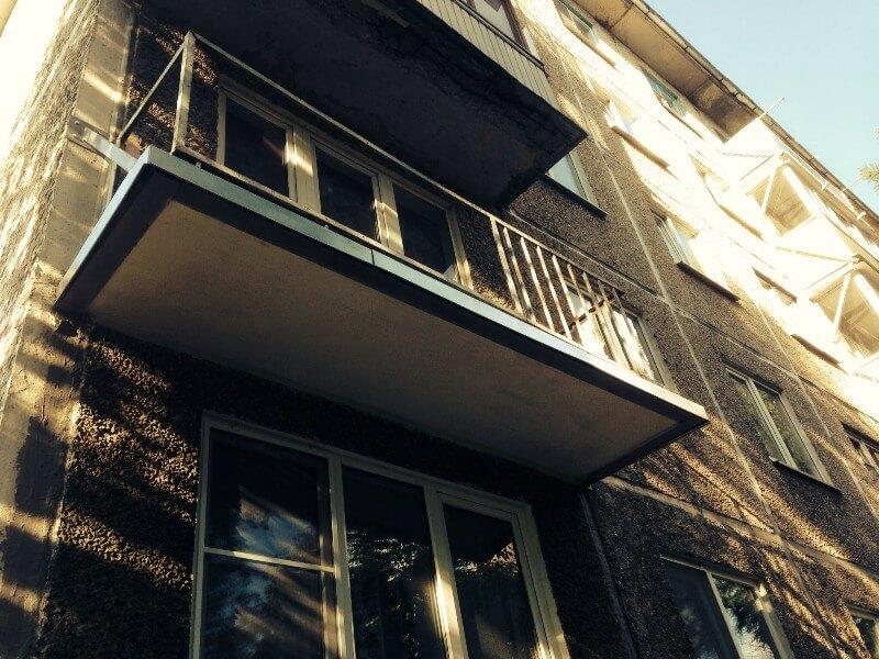 Основные методы расширения балкона: по основанию плиты без ...